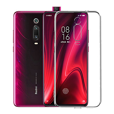 cheap Xiaomi Case-Case For Xiaomi Xiaomi Mi 9T / Xiaomi Mi 9T Pro / Redmi K20 Pro Dustproof / Ultra-thin / Transparent Back Cover Solid Colored TPU