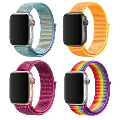 povoljno Apple Watch remeni-kompatibilno s trakom za jabučne satove 38 mm 40 mm 42 mm 44 mm mekani lagani sportski zamjenjivi pojas za seriju satova 5 4 3 2 1 (38 mm / 40 mm)