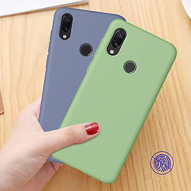 Недорогие Чехлы и кейсы для Xiaomi-Оригинальный жидкий силиконовый чехол для телефона для xiaomi redmi note 7 redmi k20 pro redmi k20 redmi 7 redmi 6 pro redmi 6a redmi 6 гладкий тонкий мягкий чехол для тпу