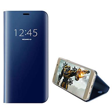 Недорогие Чехлы и кейсы для Galaxy Note-Кейс для Назначение SSamsung Galaxy Note 9 / Note 5 / Note 4 Покрытие / Флип / Авто Режим сна / Пробуждение Чехол Однотонный Твердый ПК
