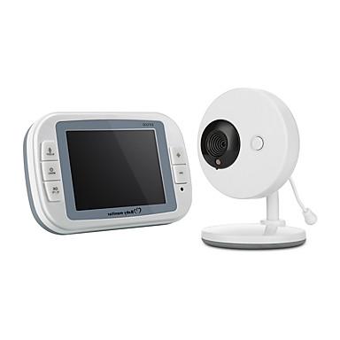 رخيصةأون كاميرات المراقبة IP-3.5 بوصة الرقمية اللاسلكية مراقبة الطفل للرؤية الليلية سلامة الطفل رعاية غرفة الموسيقى مراقبة درجة الحرارة توفير الطاقة