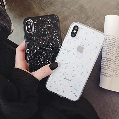 voordelige iPhone-hoesjes-hoesje Voor Apple iPhone XS / iPhone XR / iPhone XS Max Schokbestendig / Patroon Achterkant Cartoon TPU