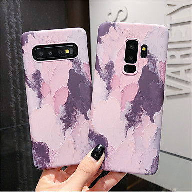 voordelige Galaxy Note-serie hoesjes / covers-hoesje Voor Samsung Galaxy Note 9 / Note 8 Glow in the dark / Patroon Achterkant Kleurgradatie Hard PC