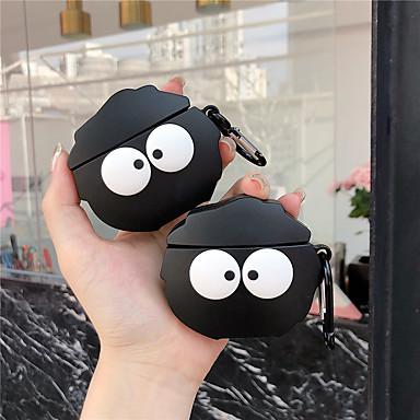 billige Telefontilbehør-Etui Til AirPods Støtsikker / Mønster / Smuk Headphone Case Myk