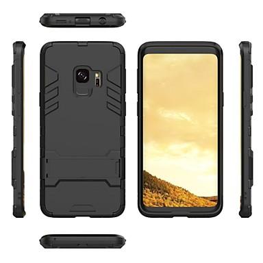 Недорогие Чехлы и кейсы для Galaxy S-2 в 1 сверхтонкий противоударный полный защитный чехол с кронштейном для Samsung Galaxy S9 / S9 Plus