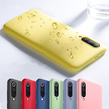 Недорогие Чехлы и кейсы для Xiaomi-Кейс для Назначение Xiaomi Xiaomi Mi Mix 2 / Xiaomi Mi Mix 3 / Xiaomi Mi 8 Защита от удара Кейс на заднюю панель Однотонный Мягкий ТПУ / Силикон / Хлопковая ткань / Xiaomi Mi 6