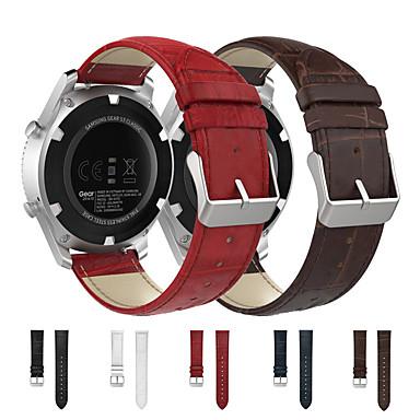 povoljno Watch Bands for LG-narukvica od narukvice od prave kože uski remen za sat gg sat sat w100 / r w110 / urbane w150 dodaci za pametni sat narukvica