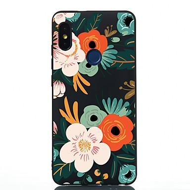 Недорогие Чехлы и кейсы для Xiaomi-чехол для xiaomi redmi note 4x / redmi 6 / redmi 5a противоударный / матовый / узор с задней крышкой цветочного тпу soft для redmi 5 / redmi 5 plus / redmi note 5 pro / mi 6x / a2 / 5x / a1 / redmi