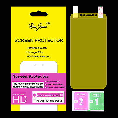 voordelige iPhone screenprotectors-Screenprotector voor Apple TPU Hydrogel Voorkant- & achterkantbescherming Explosieveilige