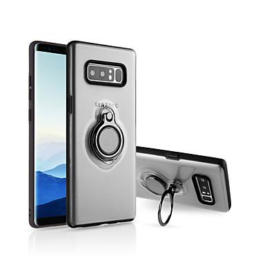 voordelige Galaxy Note-serie hoesjes / covers-hoesje Voor Samsung Galaxy Note 8 Ringhouder / Ultradun / Doorzichtig Achterkant Effen silica Gel
