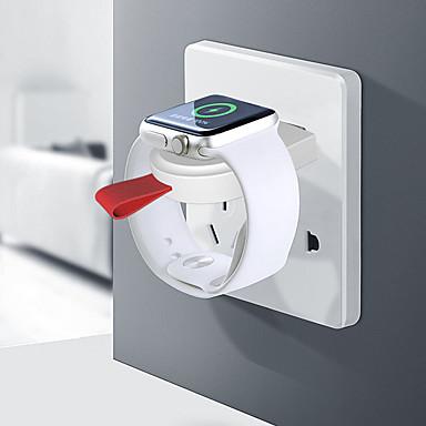 Недорогие Беспроводные зарядные устройства-Smartwatch Charger / Портативное зарядное устройство Зарядное устройство USB USB Зарядное устройство и аксессуары 1 A DC 5V для Apple Watch Series 4/3/2/1