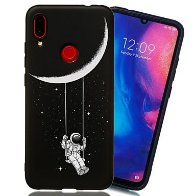 رخيصةأون Xiaomi أغطية / كفرات-غطاء من أجل Xiaomi Xiaomi Redmi Note 6 / Xiaomi Redmi Note 7 / Xiaomi Redmi Note 7 Pro ضد الصدمات / مثلج / نموذج غطاء خلفي سماء TPU
