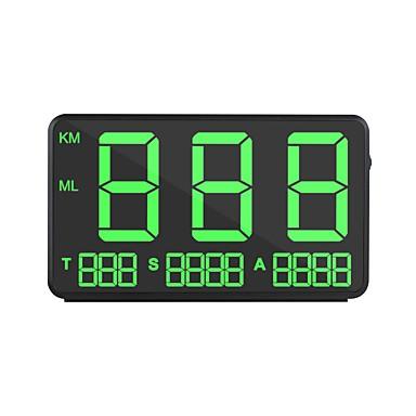 Недорогие Приборы для проекции на лобовое стекло-ziqiao czzj c80 gm hps hud дисплей скорости автомобиля км / ч mph head up display лобовое стекло цифровой проектор скорости автомобиля