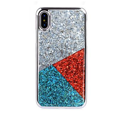 voordelige iPhone-hoesjes-hoesje Voor Apple iPhone XS / iPhone XR / iPhone XS Max Schokbestendig / Beplating Achterkant Geometrisch patroon Zacht TPU / PC