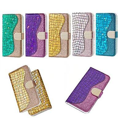 غطاء من أجل Huawei Huawei Nova 3i / Huawei P20 / Huawei P20 lite محفظة / حامل البطاقات / ضد الصدمات غطاء كامل للجسم درع قاسي جلد PU