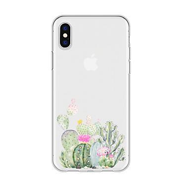 voordelige iPhone 6 Plus hoesjes-hoesje voor iphone x xs max xr xs achterkant zachte hoes tpu simple cactus soft tpu voor iphone5 5s se 6 6p 6s sp 7 7p 8 8p16 * 8 * 1