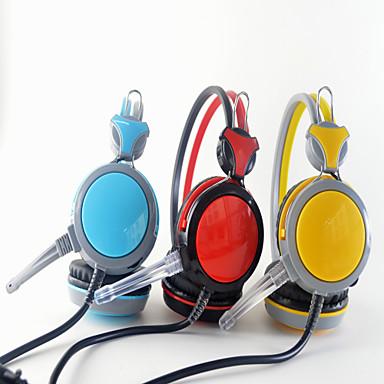 Недорогие Наушники для геймеров-T-590 Игровая гарнитура Проводное Игры Стерео С микрофоном