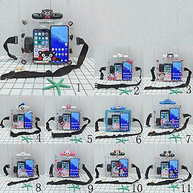 Недорогие Универсальные чехлы и сумочки-мобильный телефон водонепроницаемый мешок открытый пвх водонепроницаемый чехол плавание висит шеи унисекс мультфильм животных