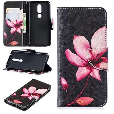 رخيصةأون Nokia أغطية / كفرات-كفر لنوكيا 3.2 / نوكيا 6 2018 Magnetic / flip / with stand كامل الحالات حقيبة زهرة الصلب بو الجلود لنوكيا 1 / نوكيا 1 زائد / نوكيا 2 / نوكيا 2.1 / نوكيا 3.1 / نوكيا 5.1 / نوكيا 5.1 / نوكيا 4.2 / نوكيا