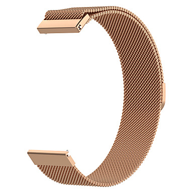 voordelige Smartwatch-accessoires-horlogeband voor ticwatch pro / huawei horloge gt huawei milanese lus roestvrij stalen polsband