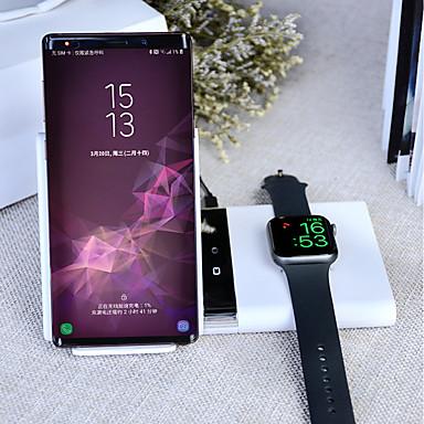 voordelige Smartwatch-accessoires-Smartwatch Charger / Draagbare lader / Draadloze oplader Usb oplader USB Draadloze oplader 1.67 A Dc 9V / DC 5V voor Apple Watch Series 4/3/2/1 Universeel