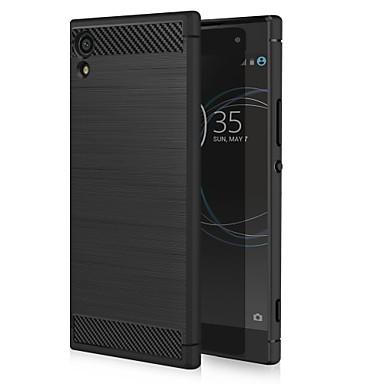 رخيصةأون Sony أغطية / كفرات-غطاء من أجل Sony Sony Xperia XA1 ضد الصدمات / ضد الغبار غطاء خلفي خطوط / أمواج ناعم TPU