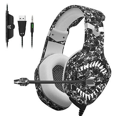 voordelige Gaming-oordopjes-onikuma k1 pro gaming headset voor mobiele gaming headset e-sports met microfoon stereo surround usb headset voor pc en laptop