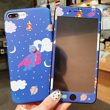 Недорогие Кейсы для iPhone 7 Plus-чехол для яблока iphone xr / iphone xs max выкройка / светящиеся в темноте задняя крышка мультфильм / цветок жесткий пк для iphone x xs 8plus 8 7plus 7 6 6s 6plus 6s plus