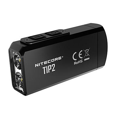olcso LED kulcstartók-Nitecore TIP2 Kulcstartó elemlámpák 720 lm LED LED 2 Sugárzók Könnyű Mindennapokra Fekete