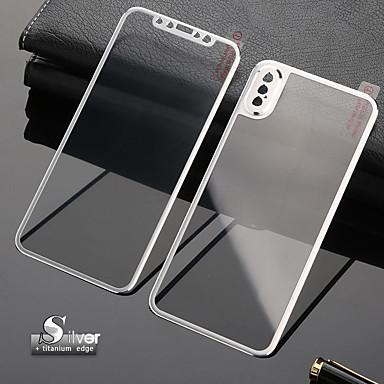 voordelige iPhone screenprotectors-3d gebogen rand voorfront gehard glas volledige scherm bescherming vervanging geval titanium legering hoes iphone xs max / xr / xs / x / 7 / 7s / 8 / 8s plus