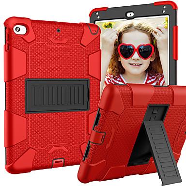 رخيصةأون أغطية أيباد-غطاء من أجل Apple ايباد ميني 5 / iPad Mini 4 مع حامل / حالة الآمن الطفل غطاء خلفي درع جل السيليكا