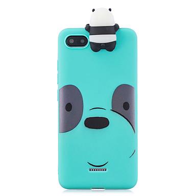 Недорогие Чехлы и кейсы для Xiaomi-чехол для xiaomi redmi 6a 3d мультфильм прекрасный цветной окрашенный мягкий тпу задняя крышка нескользящая противоударный полный защитный чехол