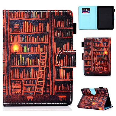 olcso Kindle tokok-Case Kompatibilitás Amazon Kindle Lite (2019) / Kindle PaperWhite 2(2nd Generation, 2013 Release) / Kindle PaperWhite 3(3th Generation, 2015 Release) Kártyatartó / Ütésálló / Állvánnyal Héjtok
