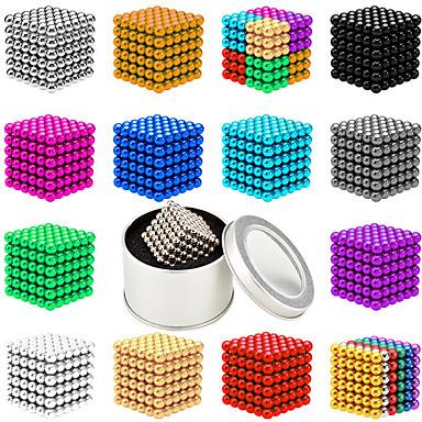 512-1000 pcs 5mm Jucării Magnet bile magnetice Lego Super Strong pământuri rare magneți Magnet Neodymium Magnet Neodymium Magnetic Stres și anxietate relief Birouri pentru birou Ameliorează ADD