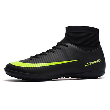 cheap Shoes-Men's Light Soles PU Fall & Winter Sporty Athletic Shoes Soccer Shoes Waterproof Black / Orange / Black / Gray