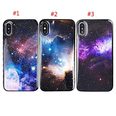 voordelige iPhone-hoesjes-hoesje voor apple iphone xs max / iphone 8 plus glitter shine / schokbestendig cover sky soft tpu voor iphone 7/7 plus / 8/6/6 plus / xr / x / xs