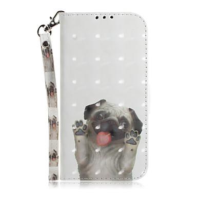 Недорогие Кейсы для iPhone 6 Plus-Кейс для Назначение Apple iPhone 11 / iPhone 11 Pro / iPhone 11 Pro Max Бумажник для карт / Защита от удара / С узором Чехол Мультипликация ТПУ