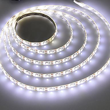 رخيصةأون شرائط ضوء مرنة LED-2M شرائط قابلة للانثناء لأضواء LED / أضواء سلسلة 120 المصابيح SMD2835 أبيض دافئ / أبيض كول إبداعي / ديكور / اللصق التلقي USB آلي ب 1PC
