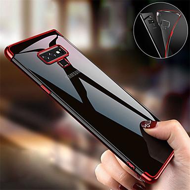 Недорогие Чехлы и кейсы для Galaxy Note-чехлы для samsung galaxy note 9 / note 8 покрытие тпу мягкая силиконовая броня прозрачная задняя крышка телефона чехол