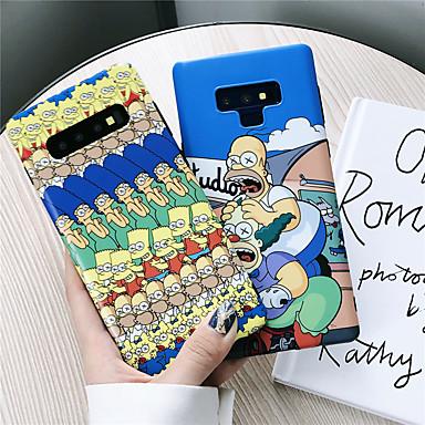 غطاء من أجل Samsung Galaxy S9 / S9 Plus / S8 Plus IMD / نموذج غطاء خلفي كارتون ناعم TPU