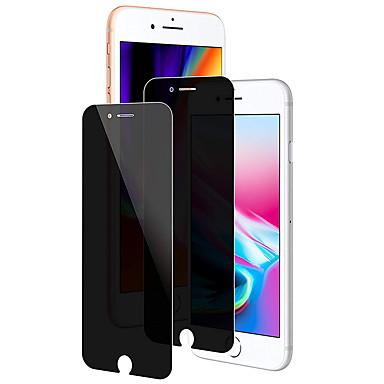 voordelige iPhone screenprotectors-screen protector voor apple iphone 6 / iphone 6 plus / iphone 6s gehard glas 2 stks front screen protector 9 h hardheid / 2.5d gebogen rand / privacy anti-spion