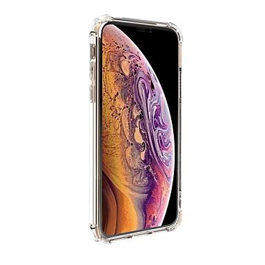 Недорогие Кейсы для iPhone X-Кейс для Назначение Apple iPhone XS / iPhone XR / iPhone XS Max Прозрачный Кейс на заднюю панель Прозрачный Твердый ПК