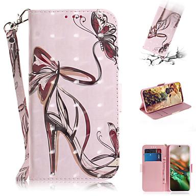 povoljno Maske za mobitele-Θήκη Za Samsung Galaxy Note 10.1 Novčanik / Utor za kartice / sa stalkom Korice Seksi dama PU koža