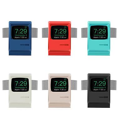 Недорогие Крепления и держатели для Apple Watch-ретро стойка силикагель для Apple Watch серии 4/3/2/1 беспроводной зарядки (без кабеля для передачи данных)