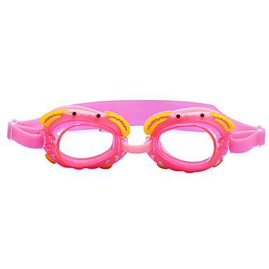 baratos Óculos de Natação-Óculos de Natação Prova-de-Água Anti-Nevoeiro silica Gel PC Vermelho Rosa Azul Vermelho Rosa Azul