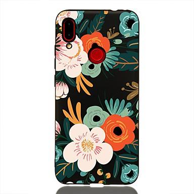 Kılıf Na Xiaomi Xiaomi Redmi Note 6 / Xiaomi Pocophone F1 / Xiaomi Redmi 6 Pro Odporny na wstrząsy / Matowa / Wzór Osłona tylna Kwiat TPU