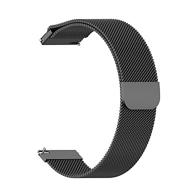 cheap Watch Bands for Huawei-Watch Band for Amazfit  GTR  42mm / Amazfit  GTR  47mm Huami Milanese Loop Stainless Steel Wrist Strap