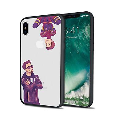 voordelige iPhone 5 hoesjes-hoesje voor iphone x xs max xr xs achterkant van de behuizing zachte hoes tpu twee mensen tpu voor iphone5 5s se 6 6p 6s sp 7 7p 8 8p