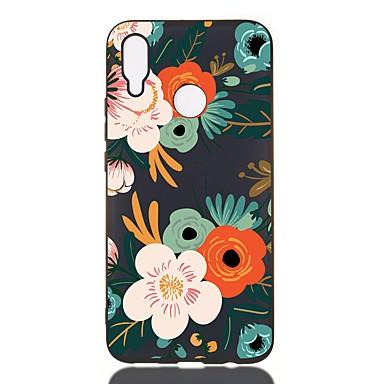 Case For Huawei Nova 3i/Y9 (2018)(Enjoy 8 Plus/Y7 2019 Shockproof / Frosted / Pattern Back Cover Flower TPU Soft For Huawei Y6 2019/Y5 2018/Y6 2018/Y5 2017/Y5 II/Y7 Prime 2018