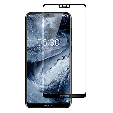 olcso Nokia képernyővédők-NokiaScreen ProtectorNokia X6 High Definition (HD) Kijelzővédő fólia 1 db Edzett üveg